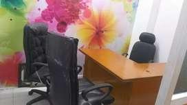 300sqft fully furnished office 73x79x48x53x70 Indira Lekhraj metro
