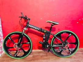 NEW FOLDABLE BICYCLES NOW IN YOUR CITY