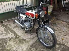 Honda CB100 gelatik 1974