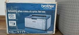 Brother Laser Printer - Hardly Used with Original Toner