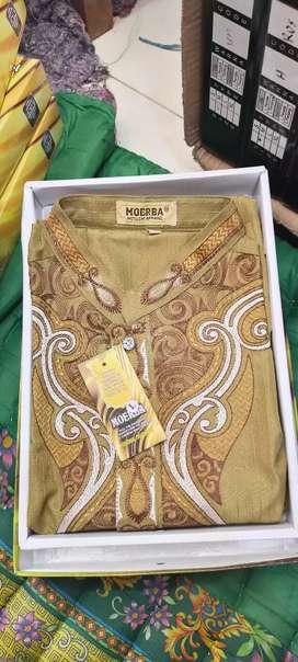 Obral baju taqwa (koko)lengan panjang dewasa bordir