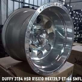 velg offroadDUFFY JT84 HSR R15X10 H6X139,7 ET-44 SMFL