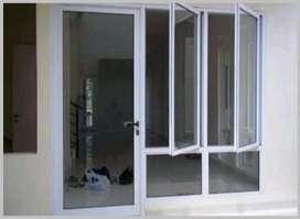 aluminium jendela rumah minimalis awet dgn kualiats ok/7276