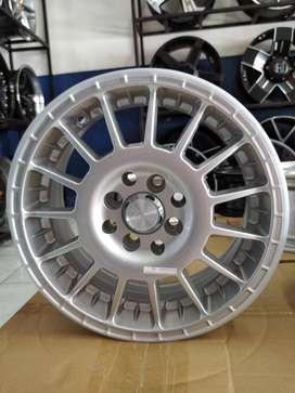 velg variasi mobil hsr 15x65 8x100-114,3 silver