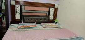 Double bed box wala with mattress