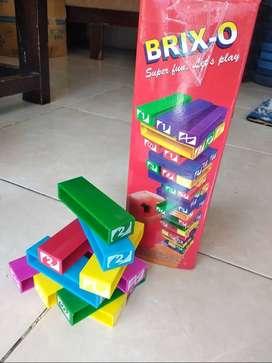 Mainan anak Balok bersusun Uno Stacko Brix-O