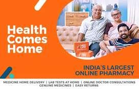 Informing door to door about Medicines @30% Discount Delivered at Door