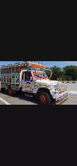 Muje driving me job chahiye pick up icher 407 and ather car chalata hu