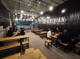 Over Usaha kedai/cafe kekinian