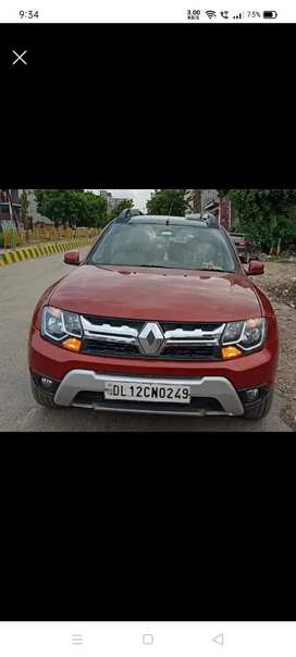 Renault Duster rxz amt. 2018 Diesel Well Maintained