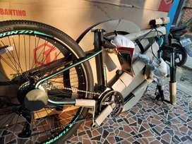 BARU sepeda gunung pacific turanza bukan united polygon wimcycle