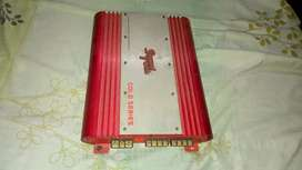 Car amp and buffer 2 speakers only 8000 rs