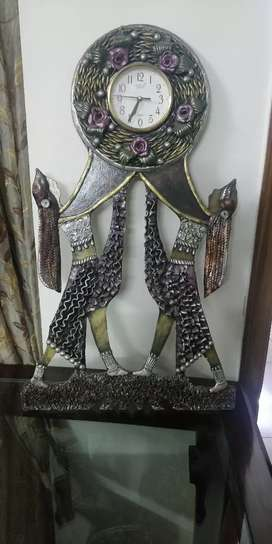 Antique handcrafted wall clock from jaipur