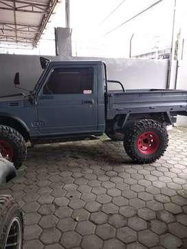 Suzuki katana long modif pikup 4x4