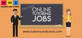 home tuitions and online tuitions