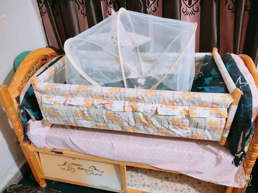 Baby bed for sale in New condition only 3 months used