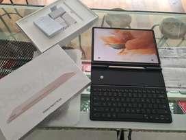Samsung Tab S7 FE 5G 6/128 Mystic Pink Istimewa + Samsung Keyboard