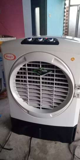 Full size room air cooler with wranty