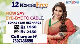 TataSky SALE HOLI OFFER NEW Launch TATA SKY ANNUAL Dish DTH D2H Airtel