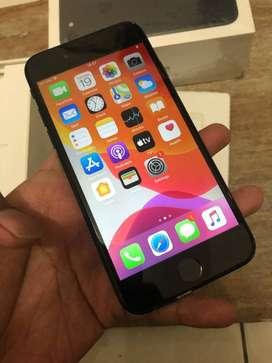 iPhone 7 128GB BLACK Ex Singapura ZPA BH 89%. Bisa TT