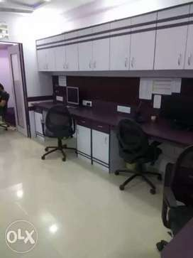 Siddhi Vinayak Buisness Towers 428Sq Ft Fully Furnished Office On Rent