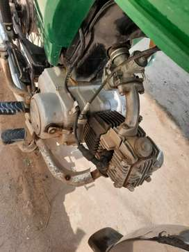 Good condition new tyre new chain grari 10by10