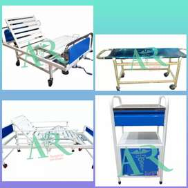 Brand New Patients BEDS & ICU Beds & manual Wheel Chair Disable person