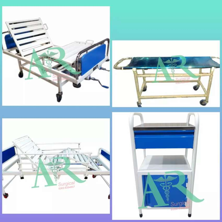 Brand New Patients BEDS & ICU Beds & manual Wheel Chair Disable person 0