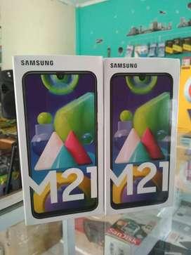 Samsung M21 4/64gb Garansi Resmi(Free TG)