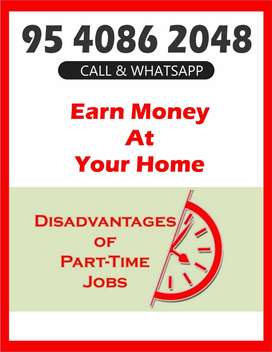 Fix  Salary !! Online Work For Free Time !! Typing Jobs