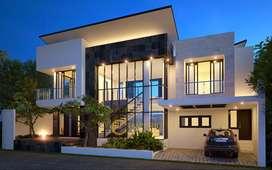 Jasa Arsitek Bintaro Desain Rumah 300m2 - Emporio Architect
