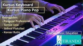 Kursus & Les Keyboard Surabaya. Kursus Les Piano Pop Surabaya TIRANDO