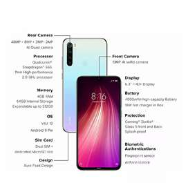 Redmi note 8 phone used 1 month