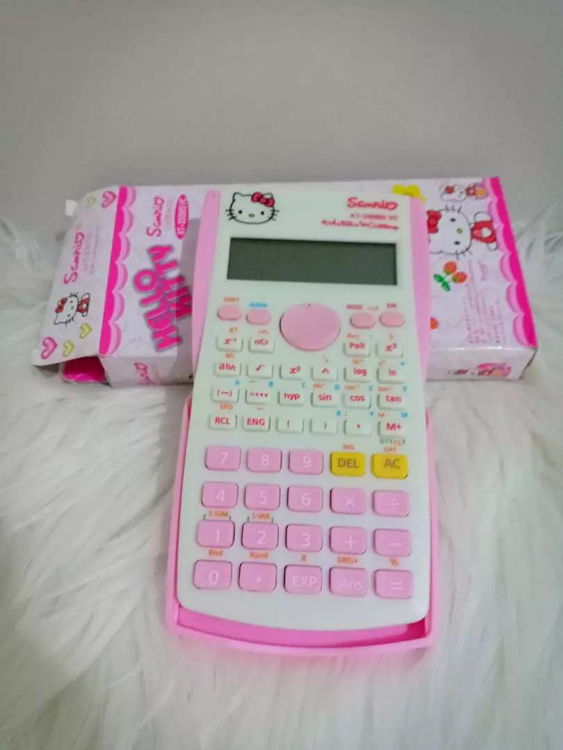 SALE Kalkulator hello Kitty tutup