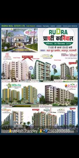 Two bhk flat for rent in rudra Ashweyram shivpur varanasi