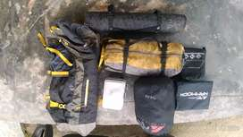Sewa tenda, carrier, nesting dan perlengkapan camping