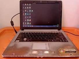 Laptop axioo m72 SR Wrna abu2