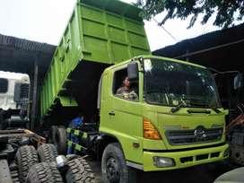 Hino dump truck 2012 dumptruck dt siap jalan