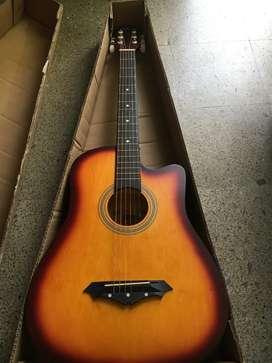38 inches cutway guitar