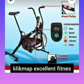 sepeda statis platinum bike twen TM-544 alat olahraga
