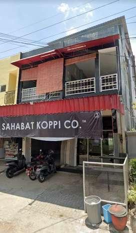 Rumah Toko perkiran luas diporos jalan strategis dan potensial