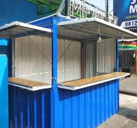 Container / booth / stand desain costum dengan harga promo