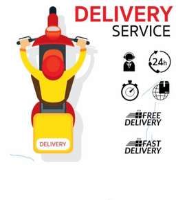 Vacancy open in food delivery boy biker and cyclist all over Goa city