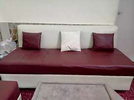Used (4months only) Five 5 seater Sofa along with Table