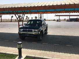 Toyota hilux double cabin 1996