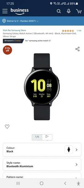 Samsung Active 2 watch unboxed