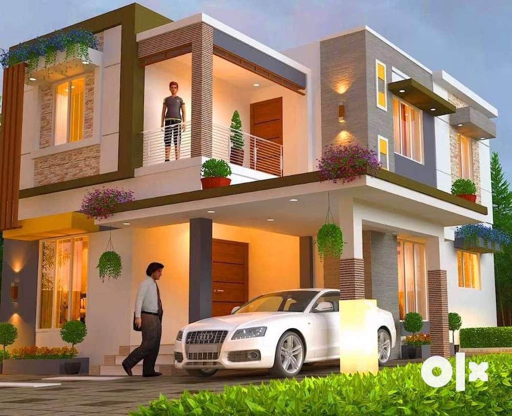 designer gated community villas for sale in town