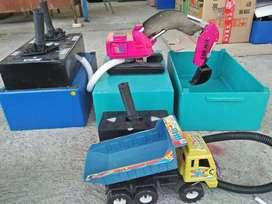 Wahana mainan edukasi eskavator excavator beko keruk kereta odong2 IIW