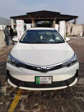 Corolla xli Bank Leased from Al baraka Bank. 16 installment Paid 100,%