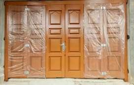 Pusat termurah pembuatan dan pasang pintu press bisa service